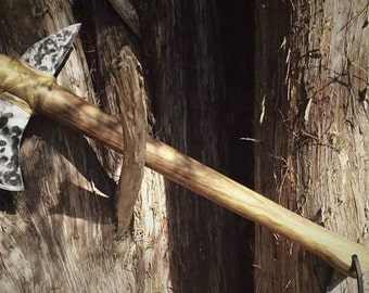 Hand crafted tomahawk