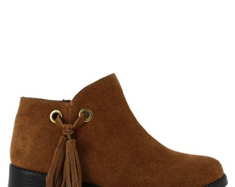 A comfy Abigail ankle boot.