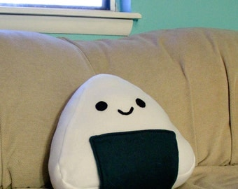 Happy Rice Ball Pillow