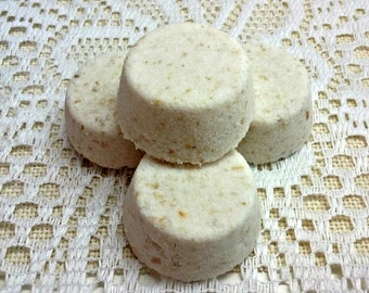 Oatmeal, Milk, and Honey Bath Truffles, Bath Bombs, Goat Milk Bath Bombs