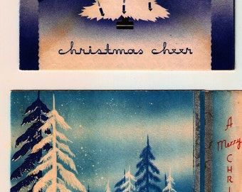 Vintage Christmas Cards ~ C12