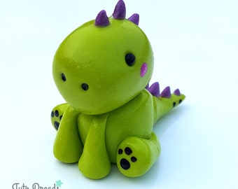 Cute Kawaii Dinosaur Figurine