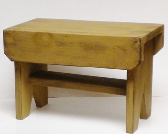 Primitive Bench - Made To Order, Wood Benches, Country Bench Seating