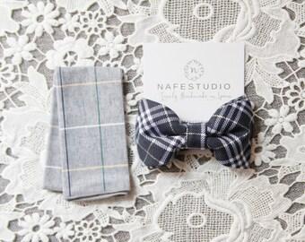 Mens Bow Tie Pre-tied Bow Tie For Men - Wedding Bowtie Groom Bowtie - Navy Blue Bow Tie Wedding Gift Groomsmen Bow Ties Wedding Gifts