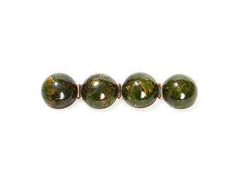 MODERNIST 1930s Creamed Spinach BAKELITE Bubble Brooch