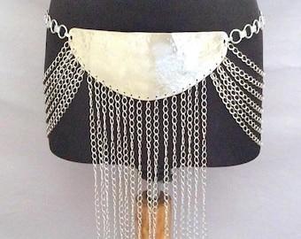Belly Dance Costume, Belly Dance Belt, Belly Dancing Belt, Chain Belt, Belly Dancer Belt