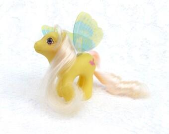 Vintage My Little Pony Summer Wing Little Flitter
