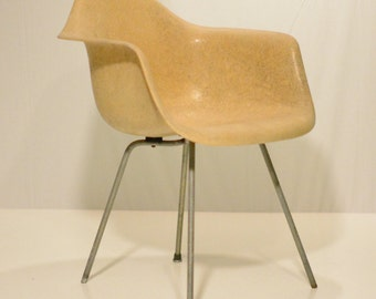 Early Eames Shell Chair with X Base