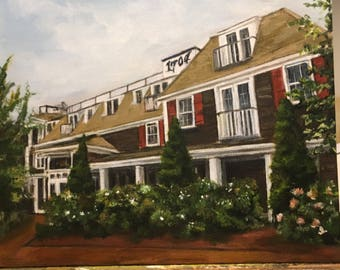 painting from photo/ wedding venue/ realtor gift/ painting of home / painting of car/ Various sizes available, unique gift idea