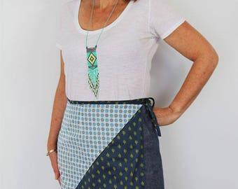 Ruby womens wrap skirt, womens skirt pattern, womens skirt pdf, womens pdf pattern, wrap skirt pdf, skirt pattern, wrap skirt sewing pattern