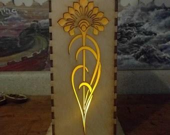 Art Nouveau Dandelion Lamp Light - Flower Nouveau Series