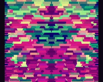 Herman | Abstract Glitches 2016 | Giclée print