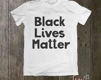 Black Lives Matter Short Sleeve Unisex T-shirt/Unisex Tee/Fun Shirt/Classy Shirt/Casual T-shirt