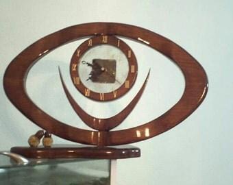 Eye of the beholder Clock