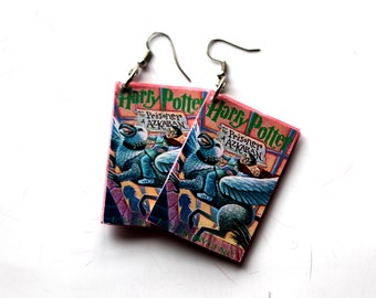 Harry Potter jewelry Harry Potter earrings Harry Potter book earrings Harry Potter jewelry Gift for Harry Potter fan Gift Harry Potter lover