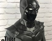 Batman Noël inspired cowl, neck and shoulder piece (full 3 piece set) for your cosplay costume (can be cast in various colors)