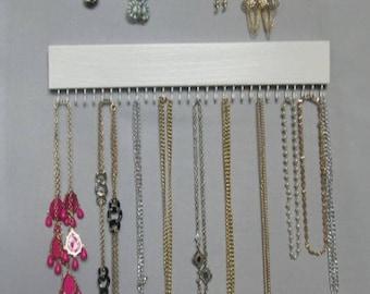 Jewelry Rack, 16 in., Necklace Organizer, Necklace Holder Wall, 31 Hks, Jewelry  Storage, Ready To Ship