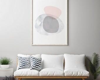 Wall Art Print, Printable Art, Modern Minimalist, Geometric Print, Digital Print, Wall Print, Abstract Art Print, Minimalist Art, Home Decor