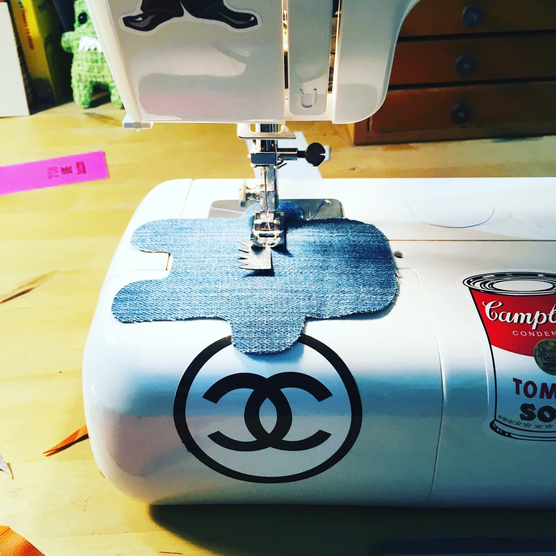 My trusty sewing machine