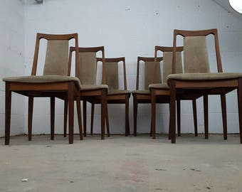 Set of 6 G Plan Dining Chairs
