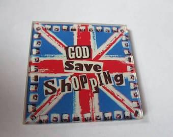 God save shopping acrylic needle minders