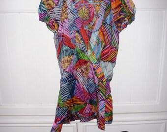 Top hidden heart silk CHRIS JANSSENS size 36 EN - 1990s