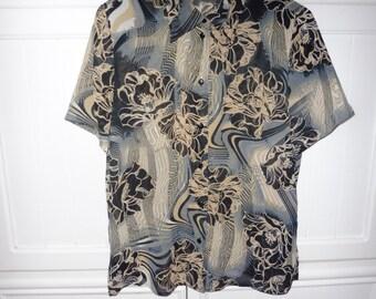 By MARCA WOMEN blouse size 40 EN - 1980s