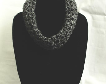 Simple and Light Grey Cowl