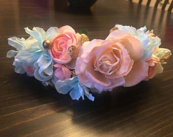 Flower Crown - Halo- Wreath M2M Well Dressed Wolf Whisper Petal