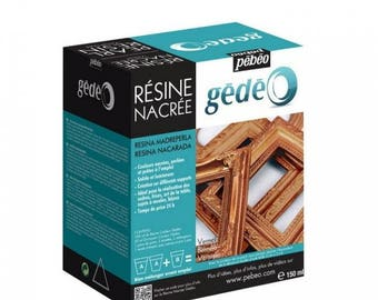 Pearl resin Kit Vermeil 150ml - Gedeo