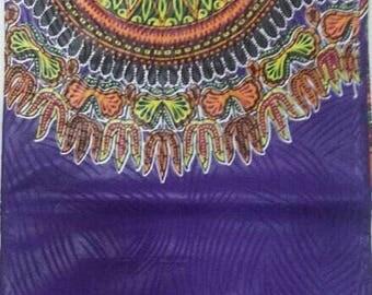 African dashiki fabric , purple african fabric, yellow dashiki fabric , pink dashiki fabrics, green dashiki fabrics, African fabric print,