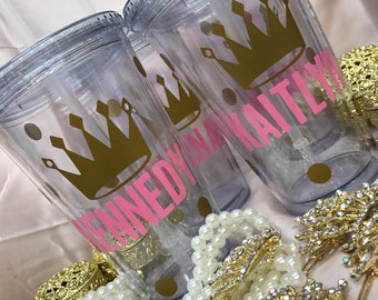 Personalized Princess Tumblers