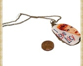 I Love Lucy Eyeglass Pendant Necklace