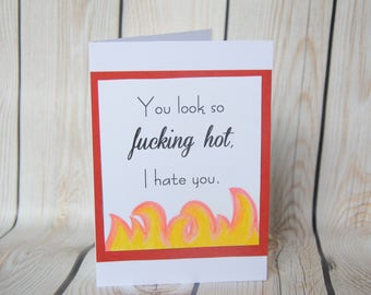 Congrats, well done, encouragement card. Personalised snarky rude card for your friend, sister, wife, brother, lover, husband or anyone!