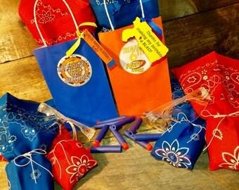Handmade Nerf Inspired Favor Goodie Goody Bags