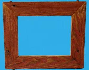 barn wood picture frame , mirror frame , barnwood frame