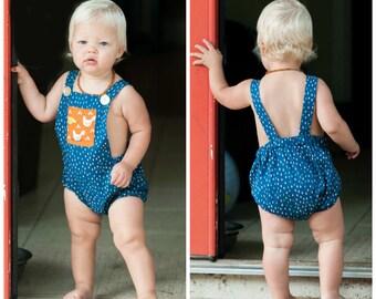 Little Boy Romper Easy PDF Pattern Unisex newborn - 3T Instant DOWNLOAD: PDF Pattern, Baby Romper Pattern, Romper toddler, Sewing Pattern