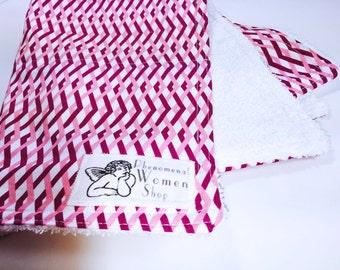 Pink Dish Drying Mat, Kitchen Dish Mat, Dish Mat, Dish Towel Drying Mat, Tea Towel, Retro Print, Camper Dishes Drain Mat