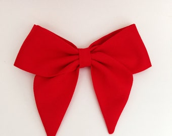 Red delicious sailor bow