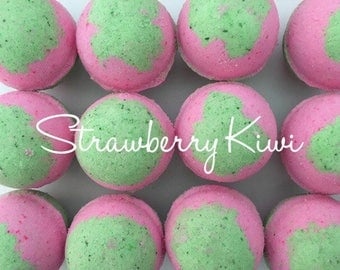 Strawberry Kiwi Bath Bomb