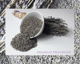 Organic French Provence Certified Lavender Highly Scented 90-250g - Potpourri - Crafting - Soap Making- Sleep Pillow  FREEPOST UK SELLER