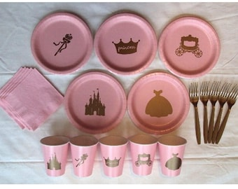 Princess Tableware Set for 5 People