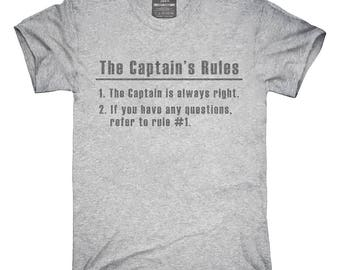 Captain's Rules T-Shirt, Hoodie, Tank Top, Gifts