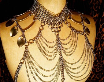 Cool Tribal Chain mail Harness