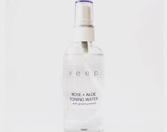 ROSE + ALOE Facial Toning Water