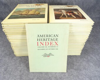 American Heritage Lot Of 42 Books From 1955-1962 *Must See*