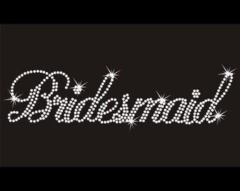 Custom Rhinestone Bridesmaid Apparel