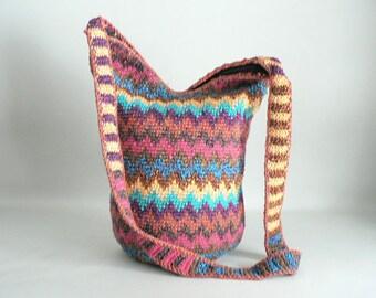Cross Body Tribal Hobo Bag