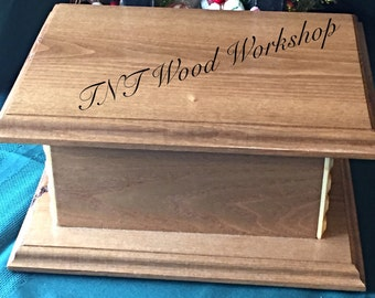 Keepsake box, storage box, treasure box, wooden box, gift box, handmade wooden box