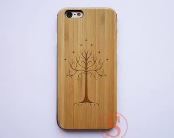 Tree of Life, Wood iPhone 7 case, Tree iPhone 6 case, Wood iPhone 6s plus case, iPhone 7 Plus case, Laser Engraved Wood Phone Case, KC-16